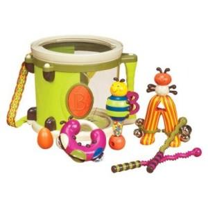 b parum pum pum drum set