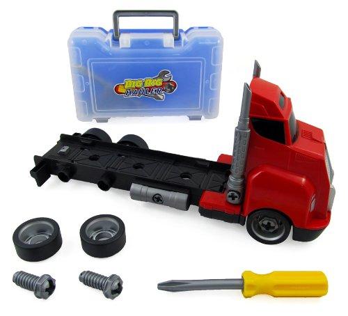 big rig tool box take apart hauler truck