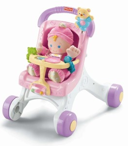 fisher price stroll along walker