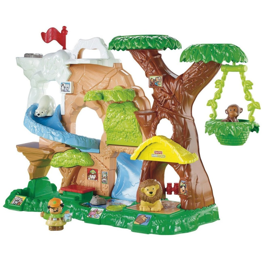 fisher price little people zoo talkers set