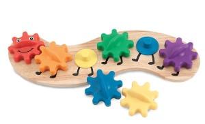 melissa and doug caterpillar gear toy