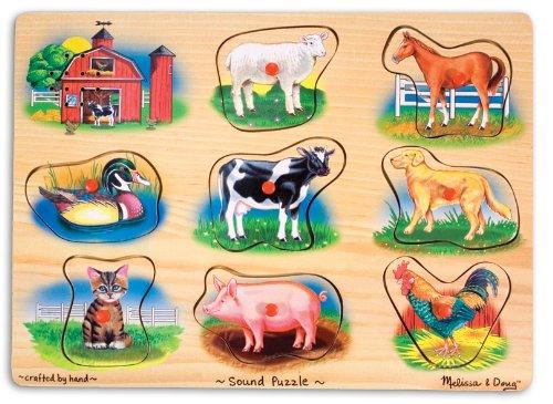 melissa & doug animal sound puzzle
