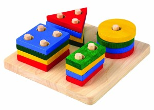 toddler sorting board