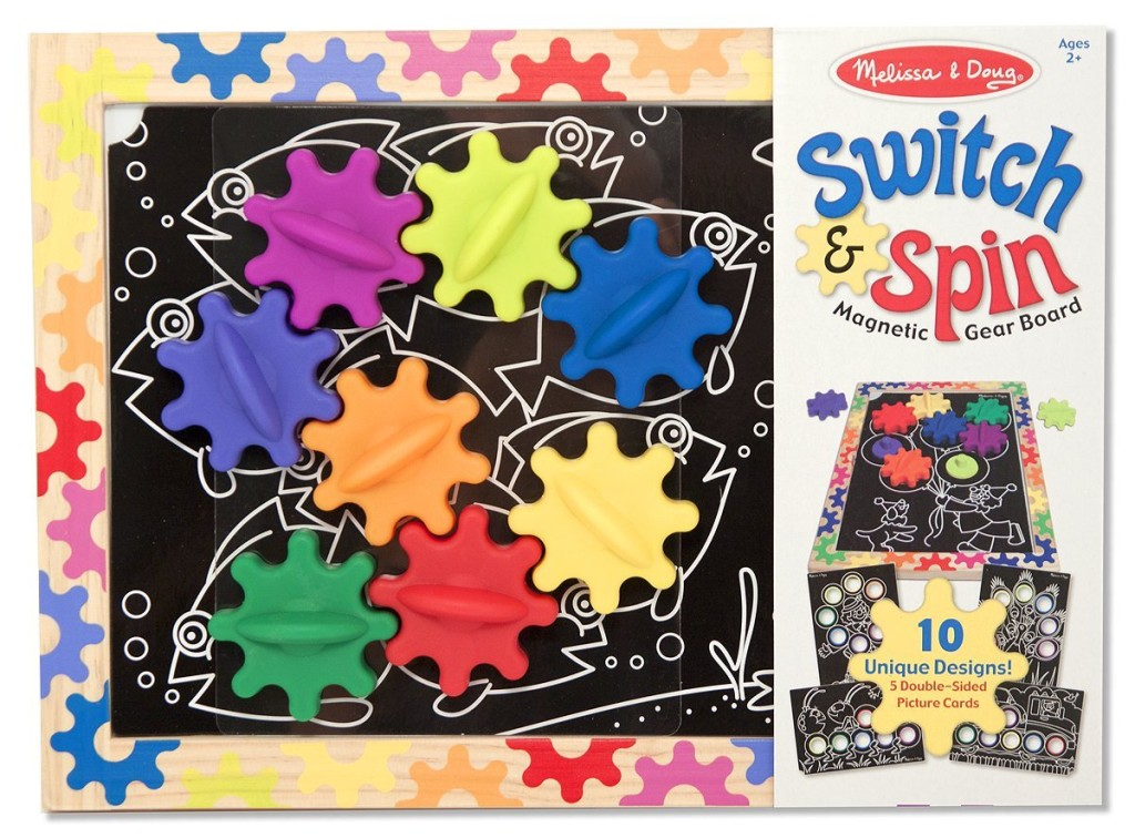 melissa & doug switch and spin magnetic board