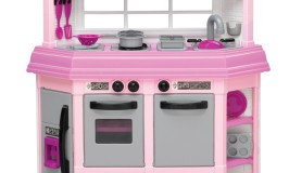 pink kitchen playset for girls