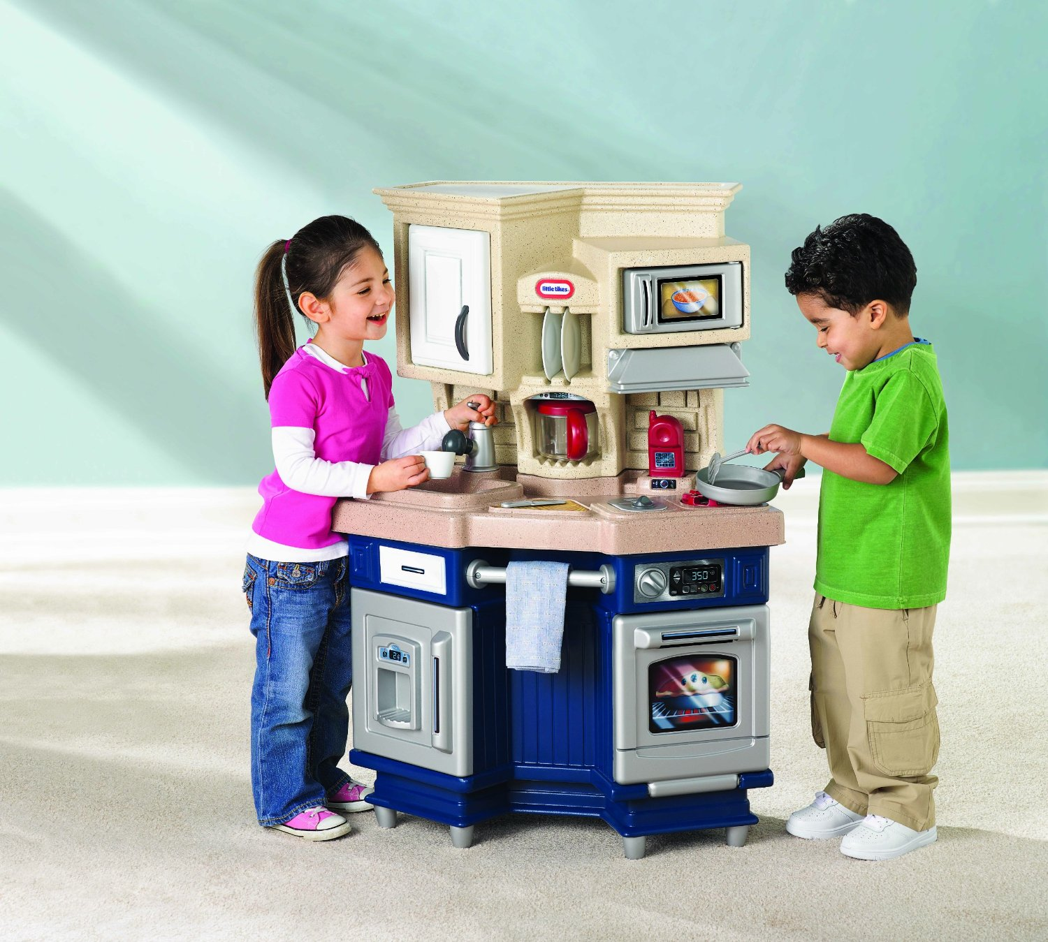 Little Tikes Super Chef Kitchen Review  Worth A Buy? -> Kuchnia Little Tikes Czerwona