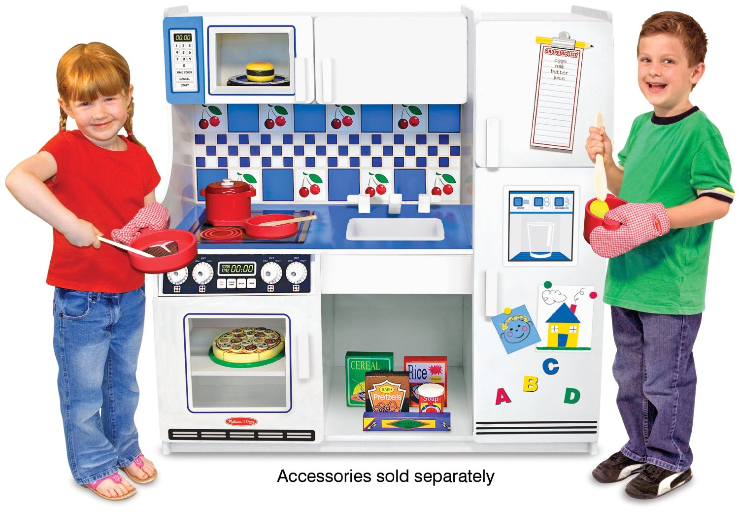 melissa doug classic deluxe kitchen review buy for your kid. Black Bedroom Furniture Sets. Home Design Ideas