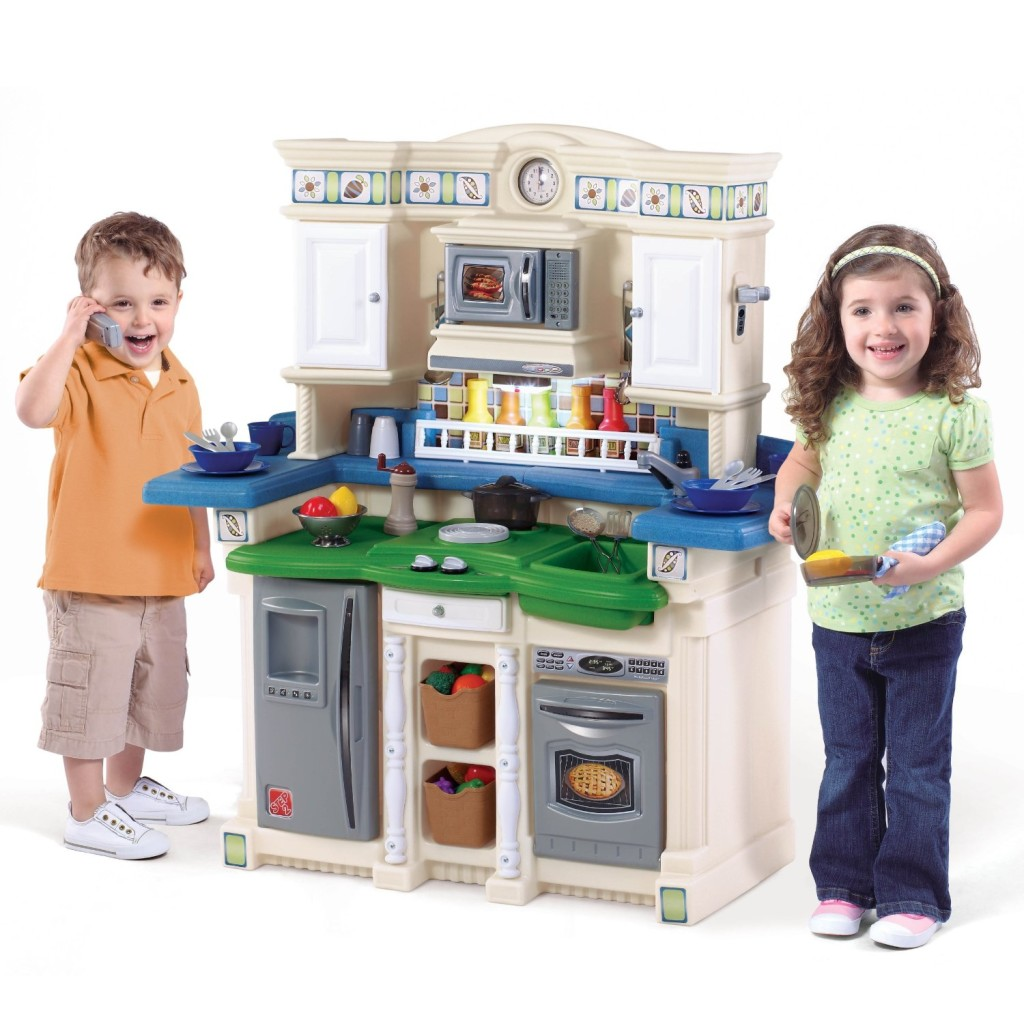 step2 lifestyle partytime kitchen for toddlers