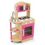 KidKraft Pink Wooden Kitchen Review