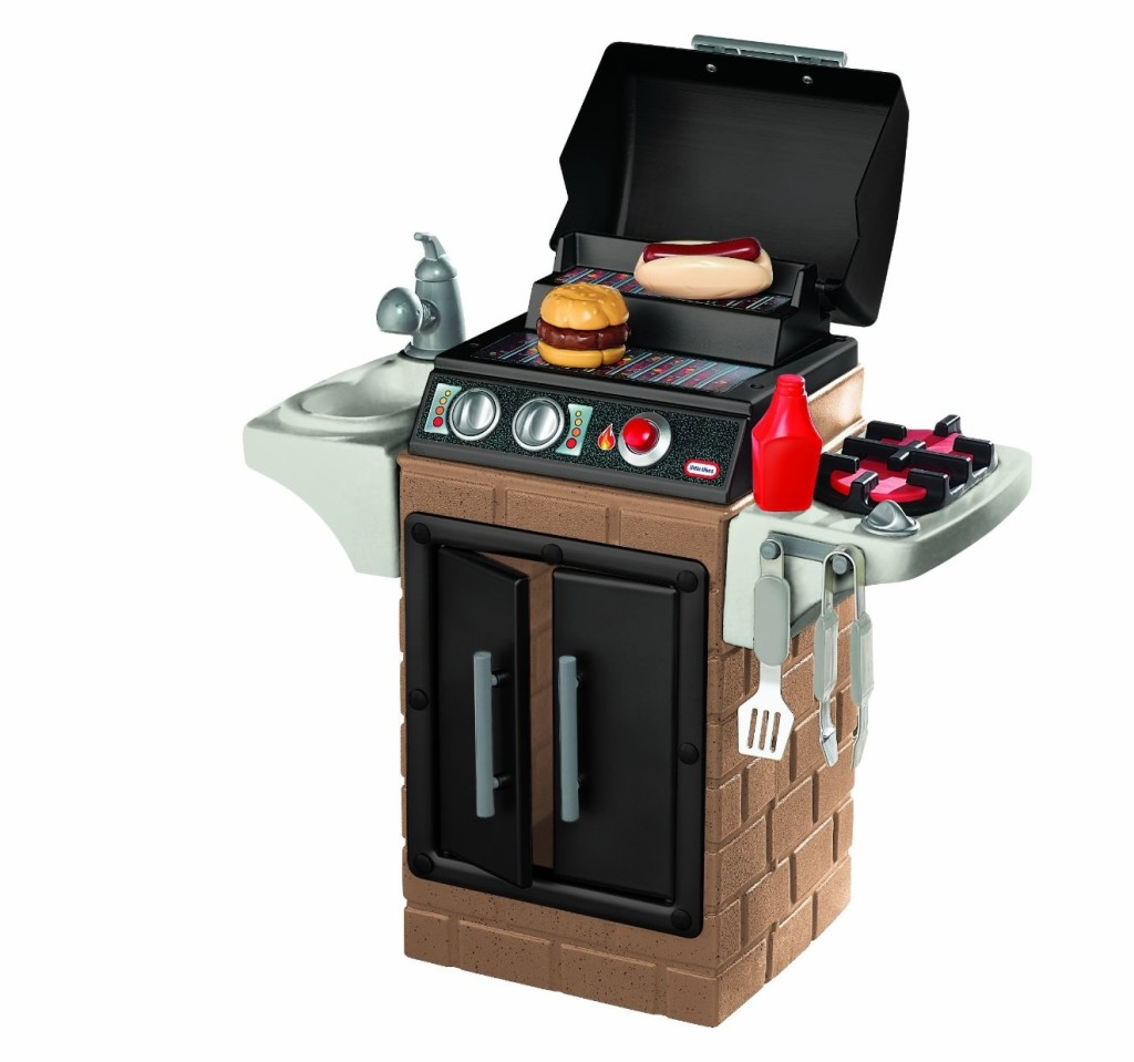 little tikes get out n' grill barbecue playset
