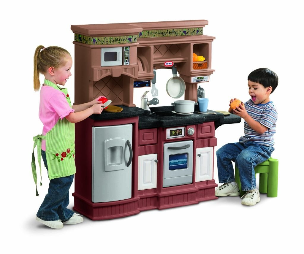 Step 2 Partytime Kitchen: Little Tikes Gourmet Prep N' Serve Kitchen Review