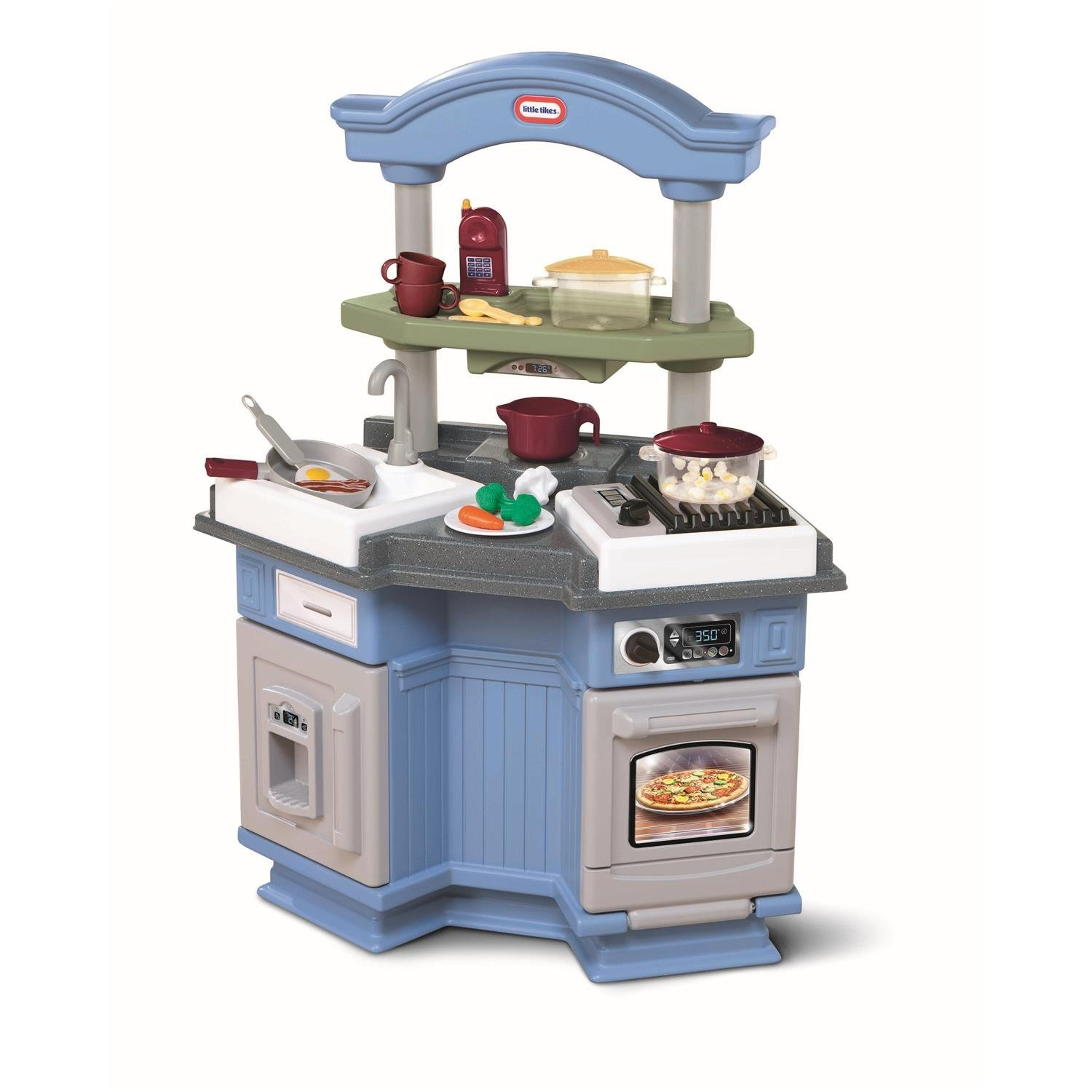 Little Tikes Sizzle \'N Pop Kitchen Review : Pros And Cons