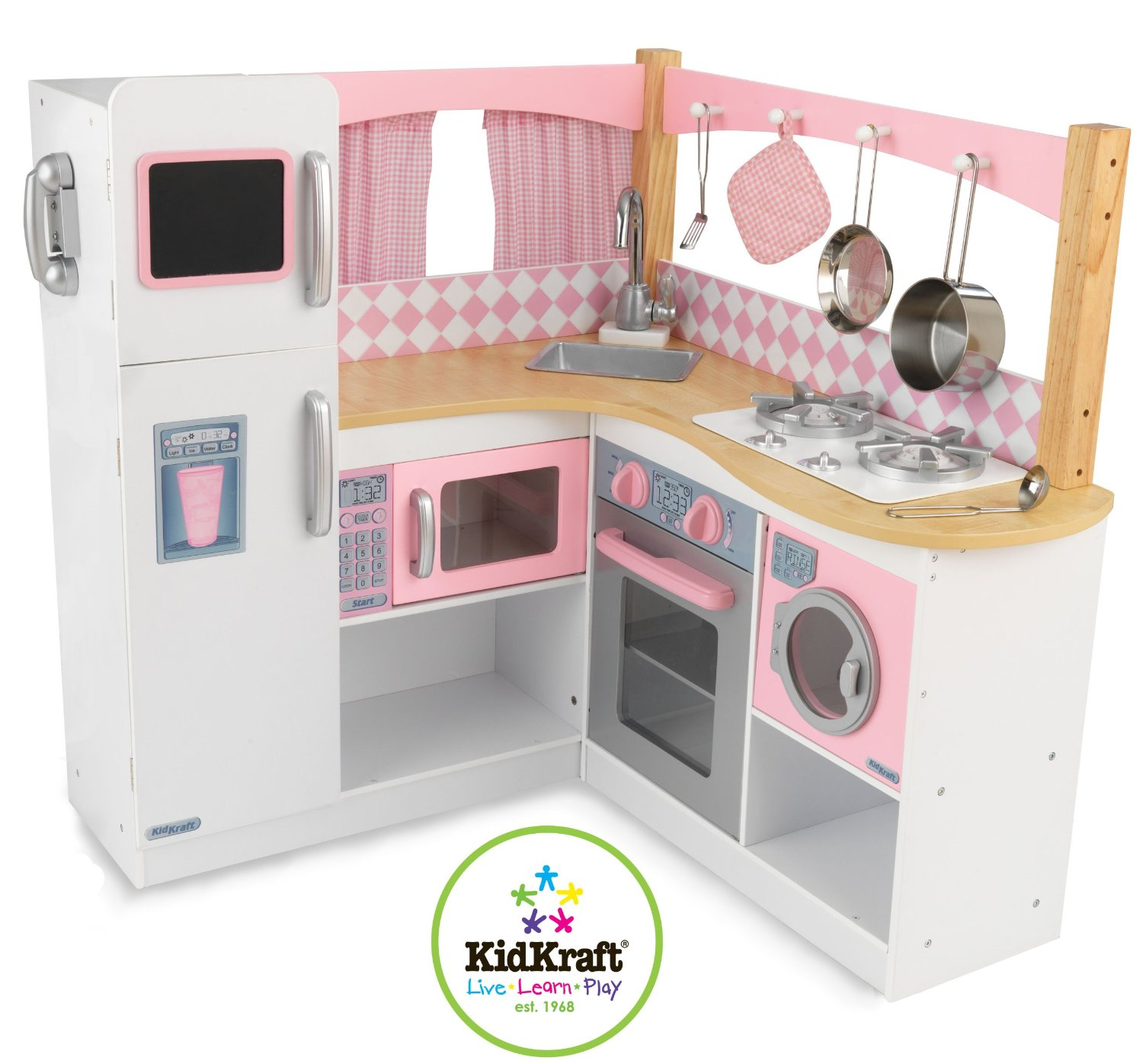 kidkraft grand gourmet corner kitchen review buy