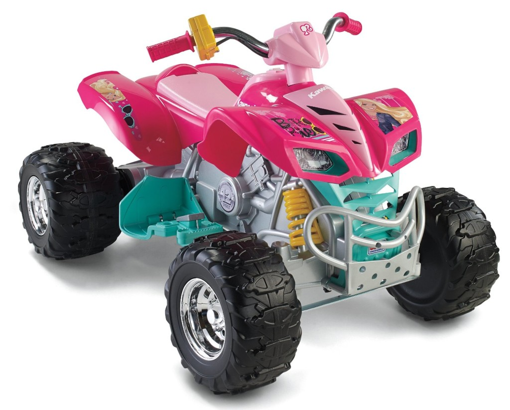 power hweels kawasaki kfx barbie