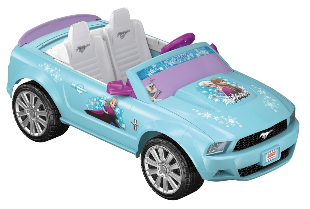 power wheels ford mustang frozen