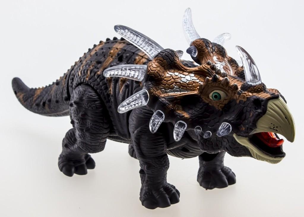 WolVol Walking Dinosaur Triceratops Toy