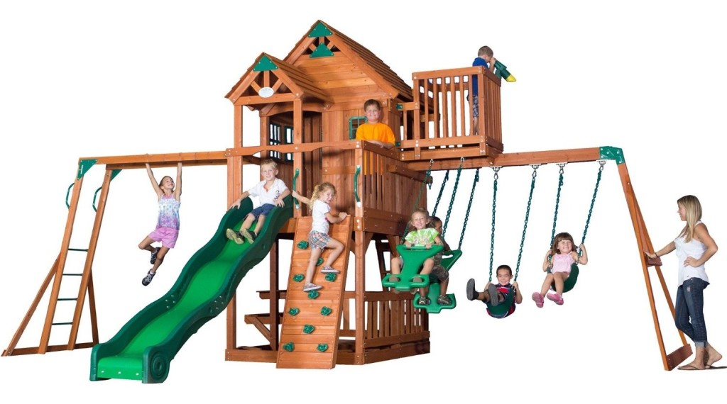 Skyfort II Cedar Swing Set