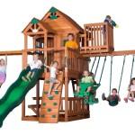 Backyard Discovery Skyfort II Cedar Swing Set Review