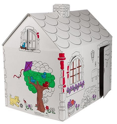 My Very Own House Coloring Playhouse